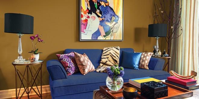 Paredes salon combinacion de colores hoy lowcost - Combinacion colores paredes ...