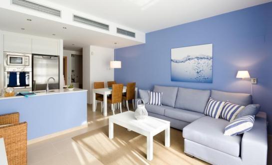 Sala de estar cocina integrada hoy lowcost for Sala de estar estancia cocina abierta