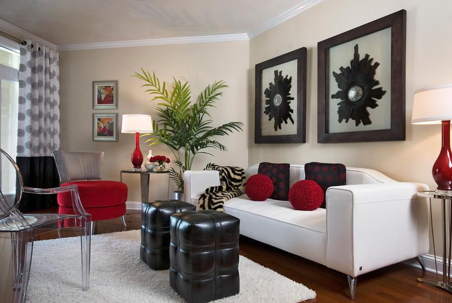 sala de estar combinacion de muebles