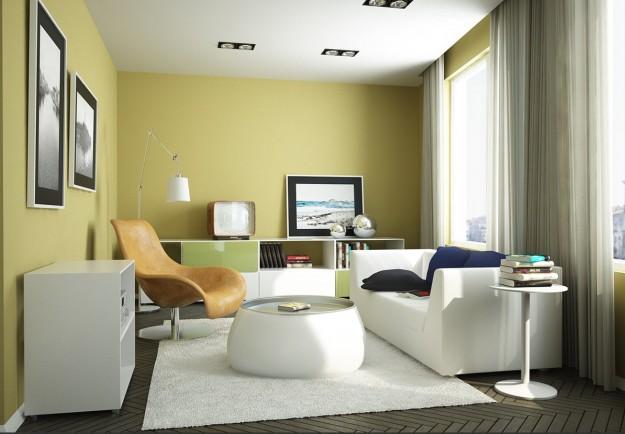 sala de estar pequña