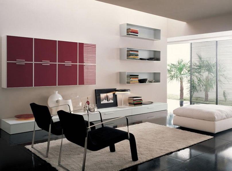 sala estar estilo minimalista