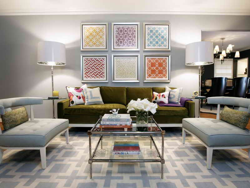 5 ideas para decorar salas de estar modernas hoy lowcost for Salas modernas muebles