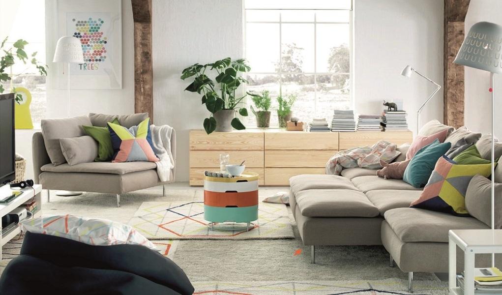 Colores para paredes modernas 2018 hoy lowcost for Ikea decoracion paredes