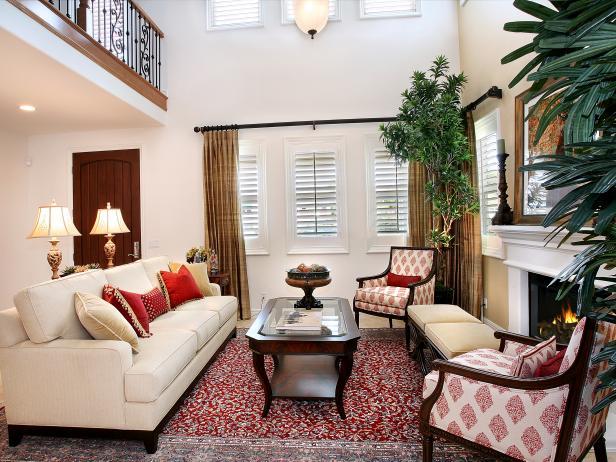 tapicerias en sala de estar modernas