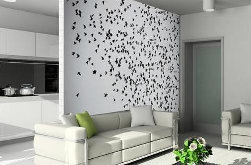 Vinilos adhesivos pared hoy lowcost for Adhesivos decorativos pared