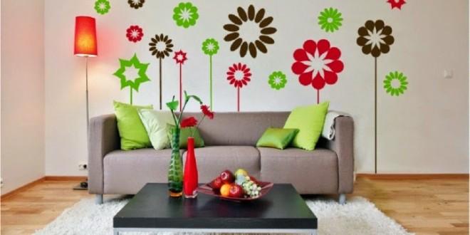 Vinilos decorativos para salas hoy lowcost for Vinilos adhesivos para paredes de banos