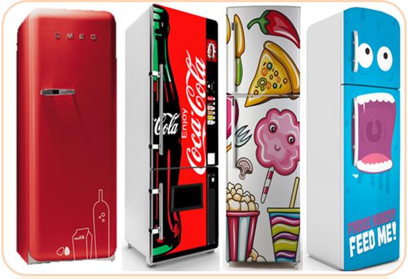 .vinilos originales para frigorificos