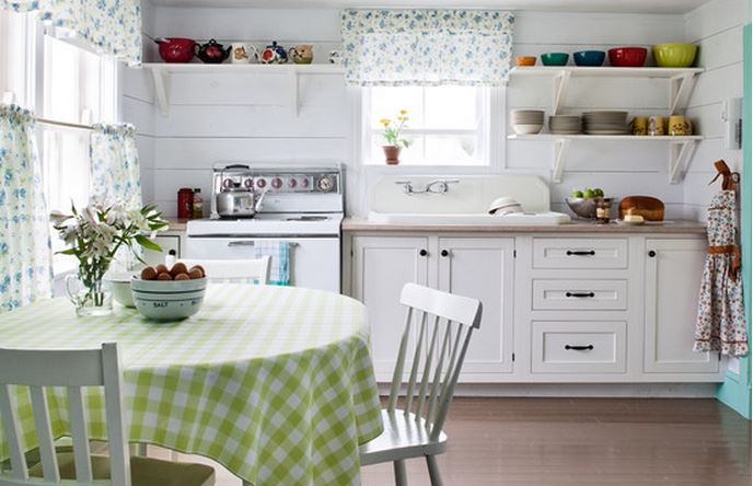 diseo cortinas cocinas modernas
