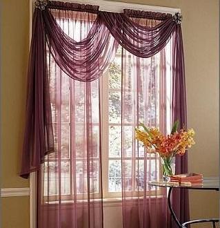 Dise o cortinas hoy lowcost - Disenos de cortinas para salones ...