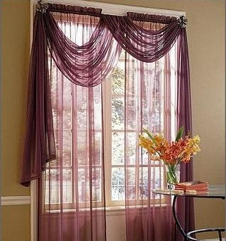 Tipos de cortinas modernas m s elegantes hoy lowcost - Telas de cortinas modernas ...