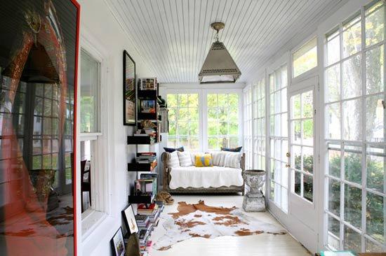 Decorar terrazas con librerias