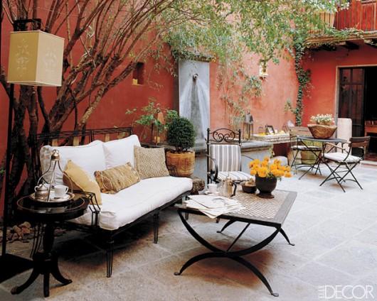 Como decorar terrazas en invierno hoy lowcost for Bancos para terrazas baratos