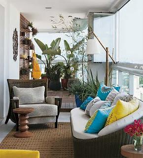 Terrazas y balcones decorados
