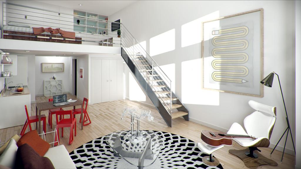 accesorios decorativos lofts modernos