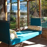 decorar terraza con hamaca