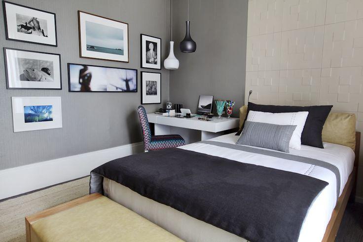 Dormitorios de matrimonio con mesas de estudio hoy lowcost - Mesas para dormitorio ...