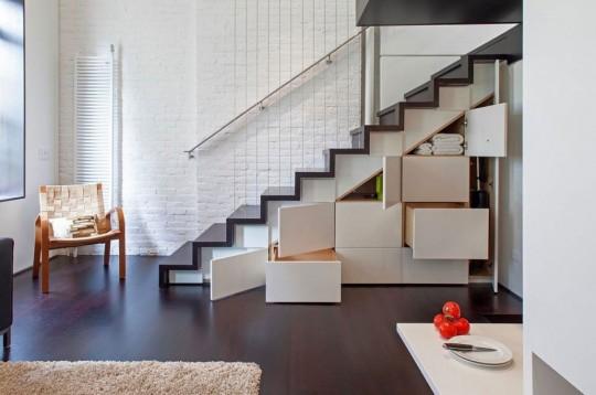 armarios almacenamiento bajo escalera duplex