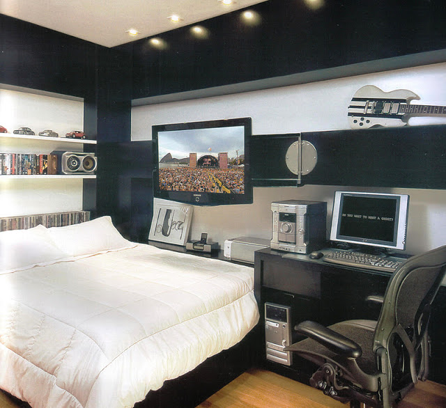como decorar dormitorios en negro