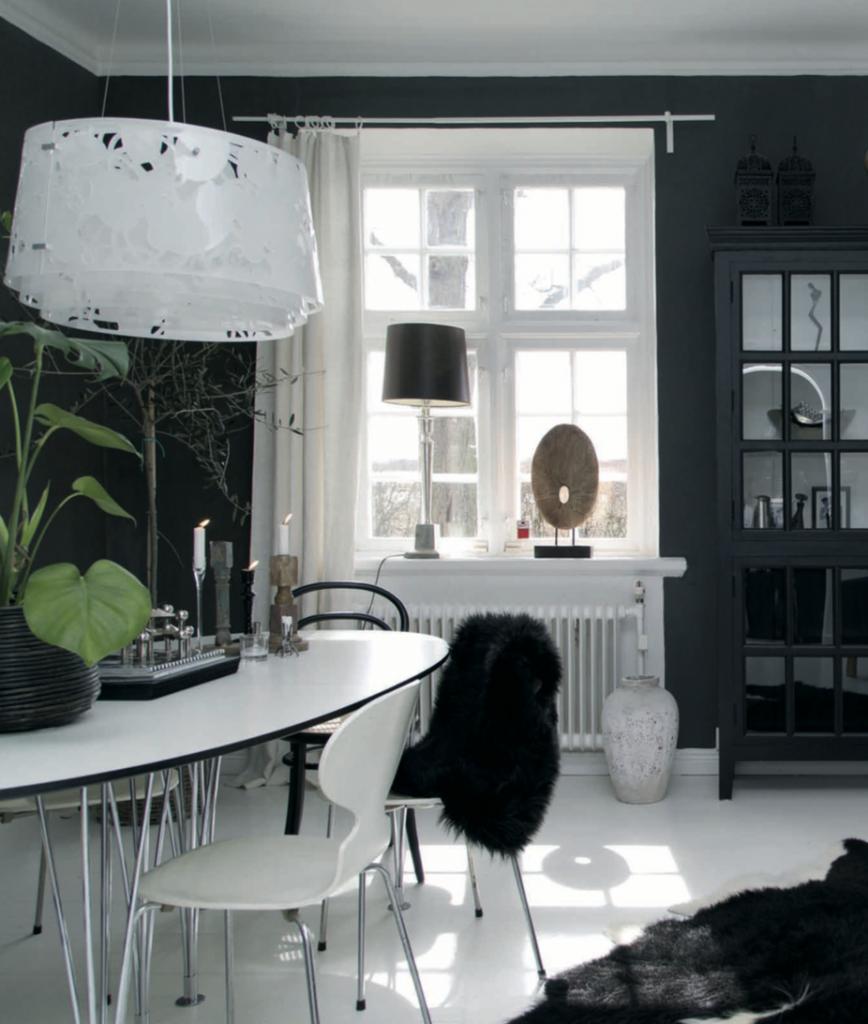 decorar cocinas en negro