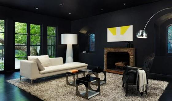 Cómo decorar paredes en negro. Novedades 2018