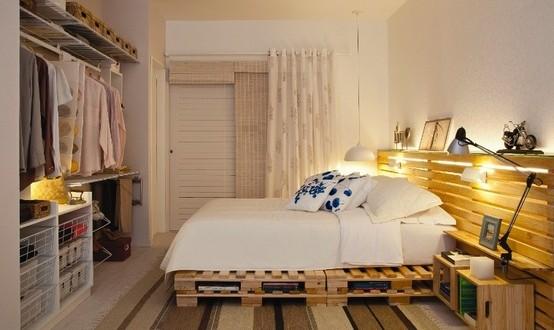 Decoracion dormitorios matrimonio con vestidor low cost - Habitaciones low cost ...