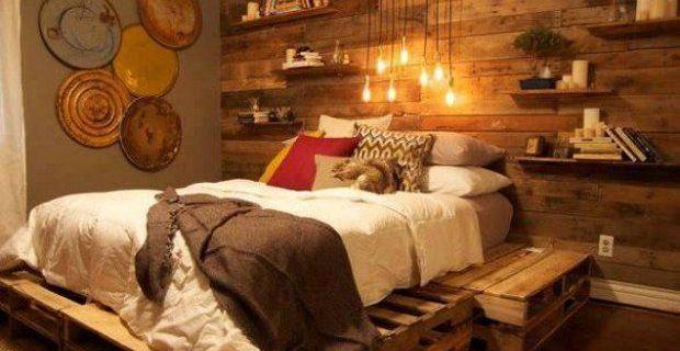 decoracion habitaciones matrimonio muebles restaurados