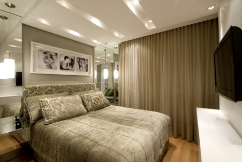 diseño dormitorio matrimonio moderno