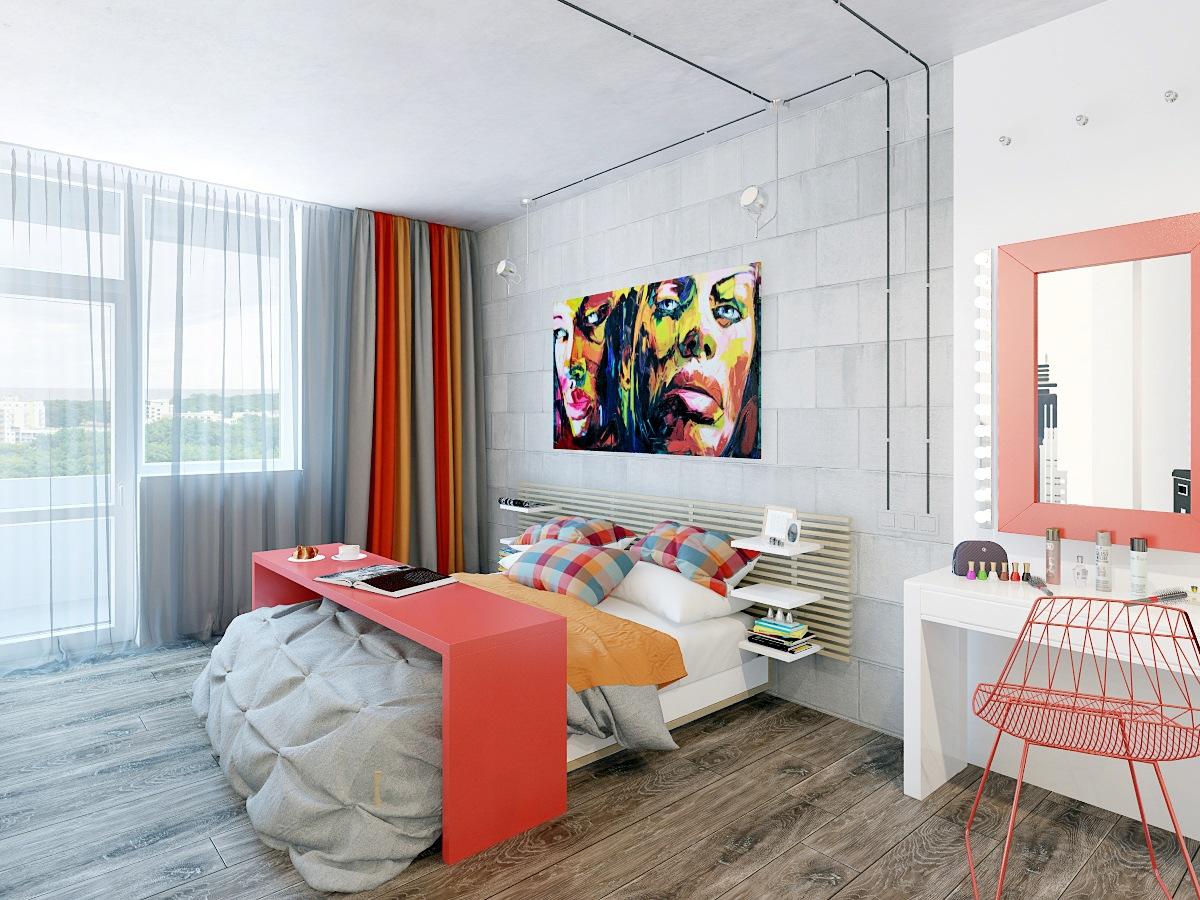 diseño moderno dormitorio principal