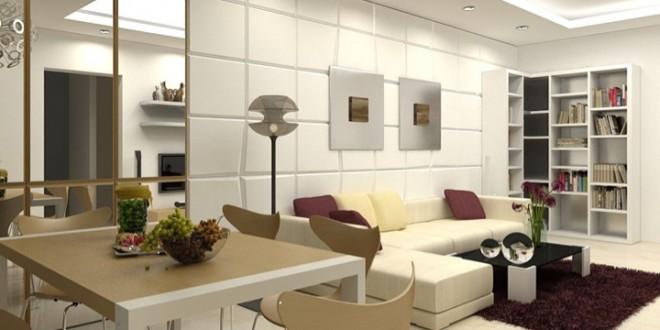 diseño pisos pequeños modernos | Hoy LowCost
