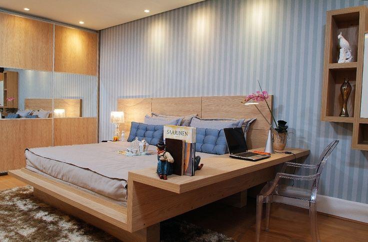 Dormitorios de matrimonio con mesas de estudio hoy lowcost - Dormitorios de matrimonio muy pequenos ...