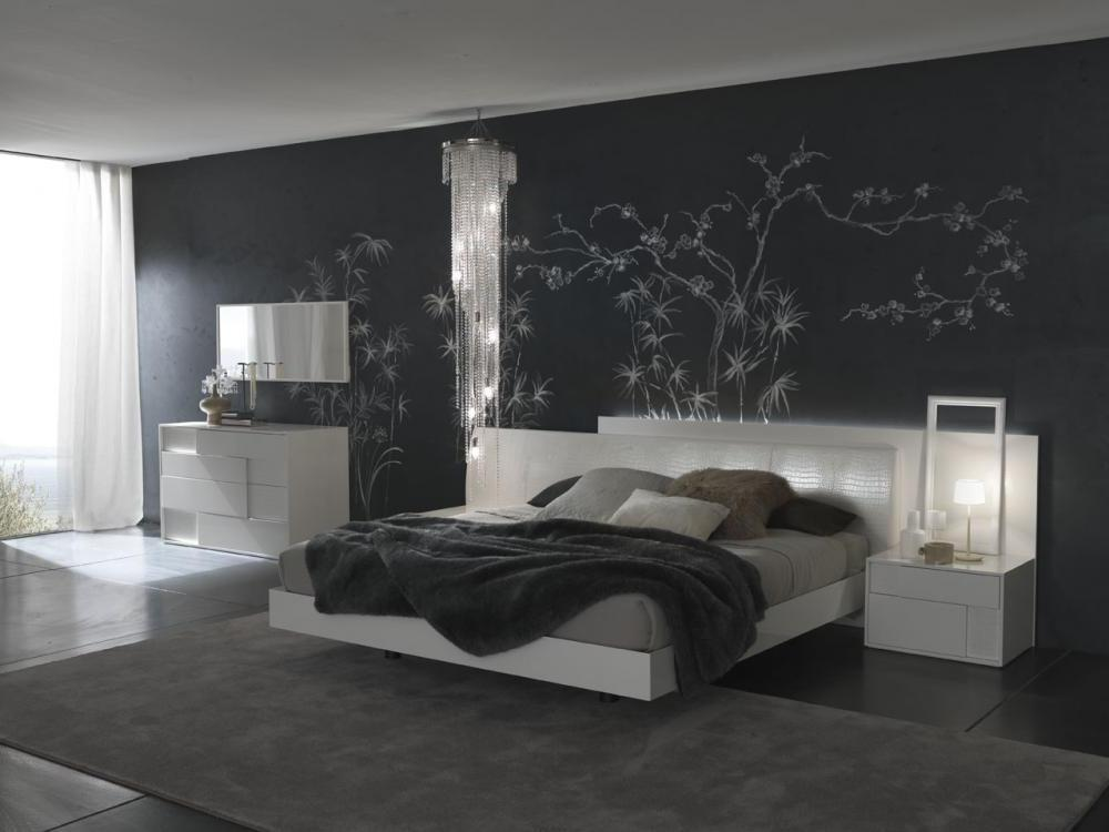 C mo decorar paredes en negro novedades 2018 hoy lowcost for Decoracion interior blanco