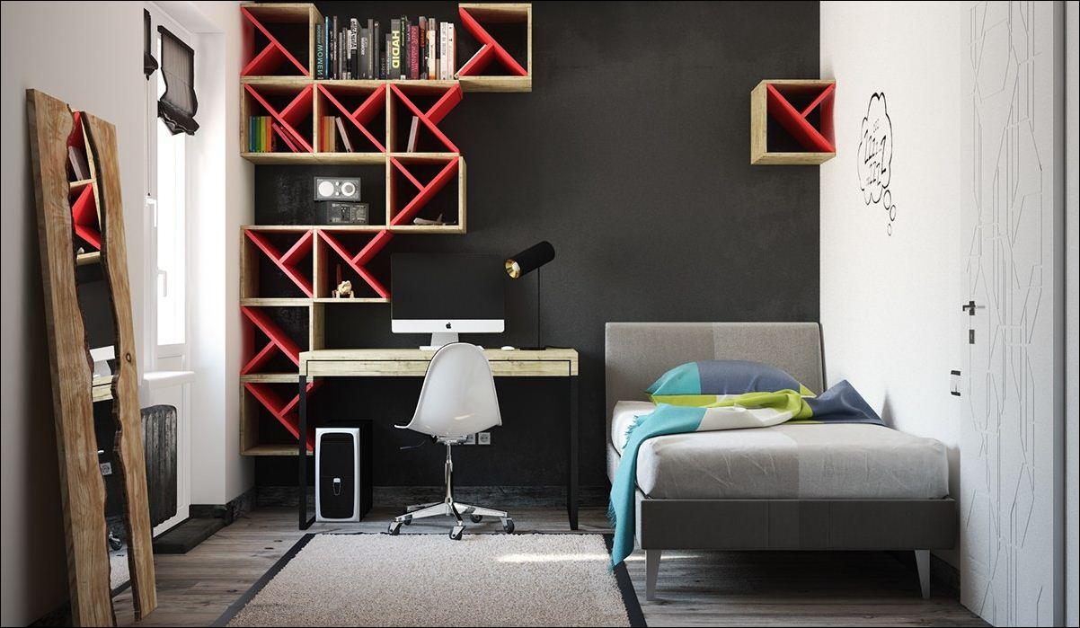 paredes negras dormitorios nios