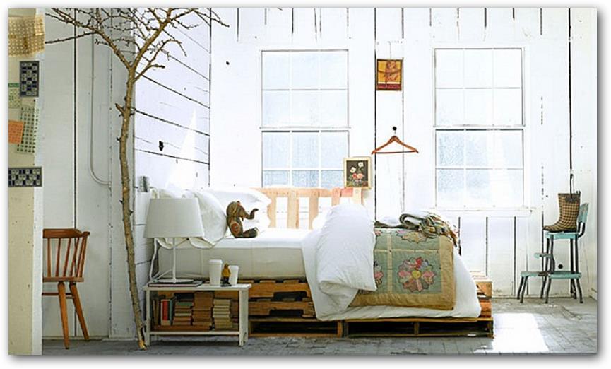 dormitorios matrimonio con palets