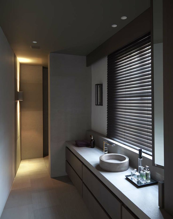 estores para baños modernos