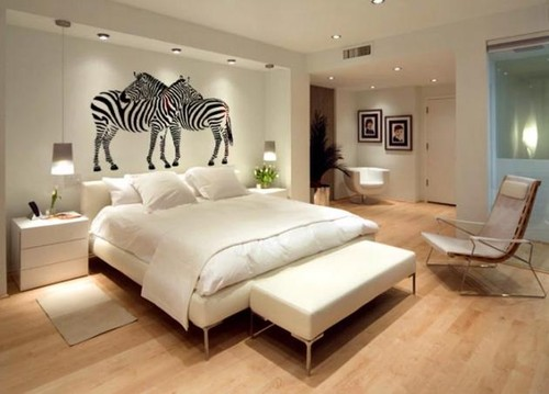 Dormitorios matrimonio modernos date un capricho hoy for Dormitorio blanco y madera