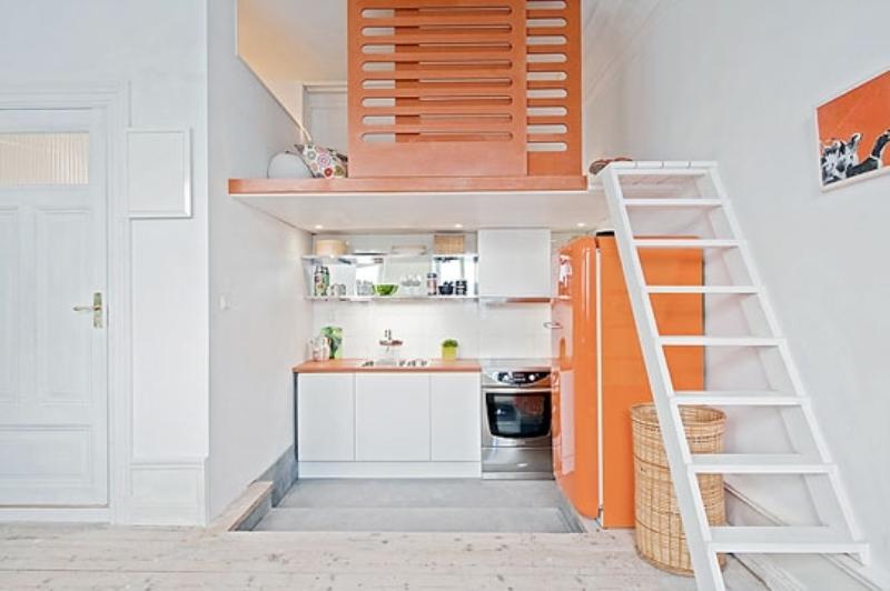 ideas decoracion doble altura pisos pequeños