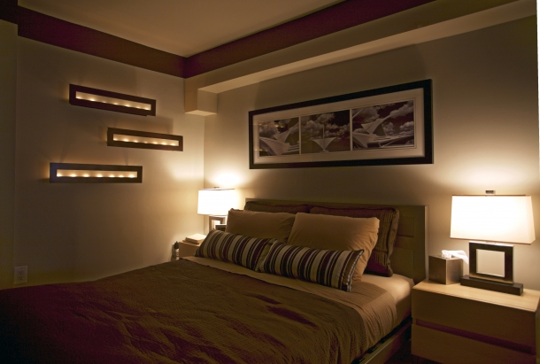 iluminacion dormitorios matrimonio moderno