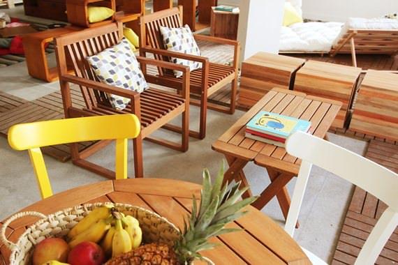 muebles cómodos para el balcón, jardín y terraza