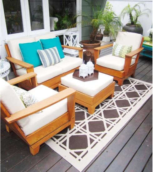 como decorar terrazas en invierno hoy lowcost On muebles para terraza pequena