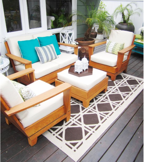 Como decorar terrazas en invierno hoy lowcost for Decoracion terrazas modernas