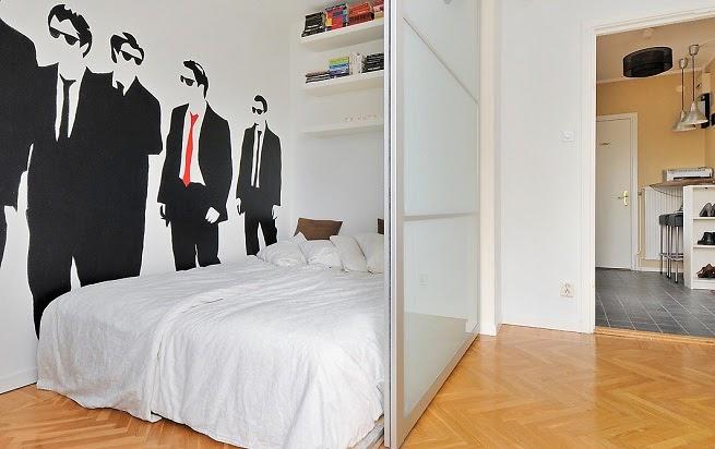 vinilos decorativos espacios pequeños