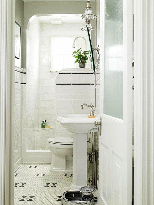 diseños baños estilo clasicos