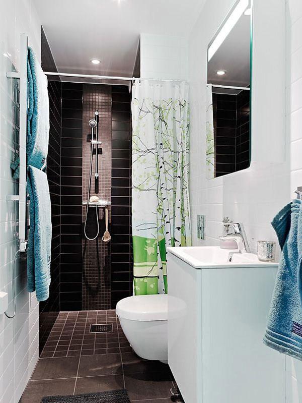 colores cuarto de baño pequeñps