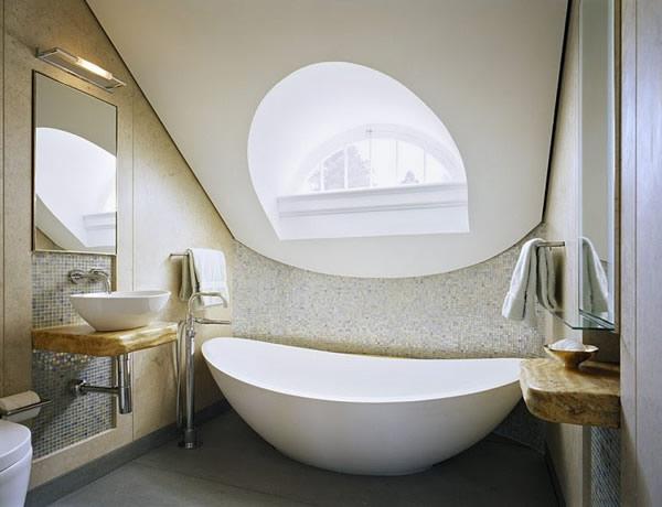 estilos cuarto de baño abuhardillado