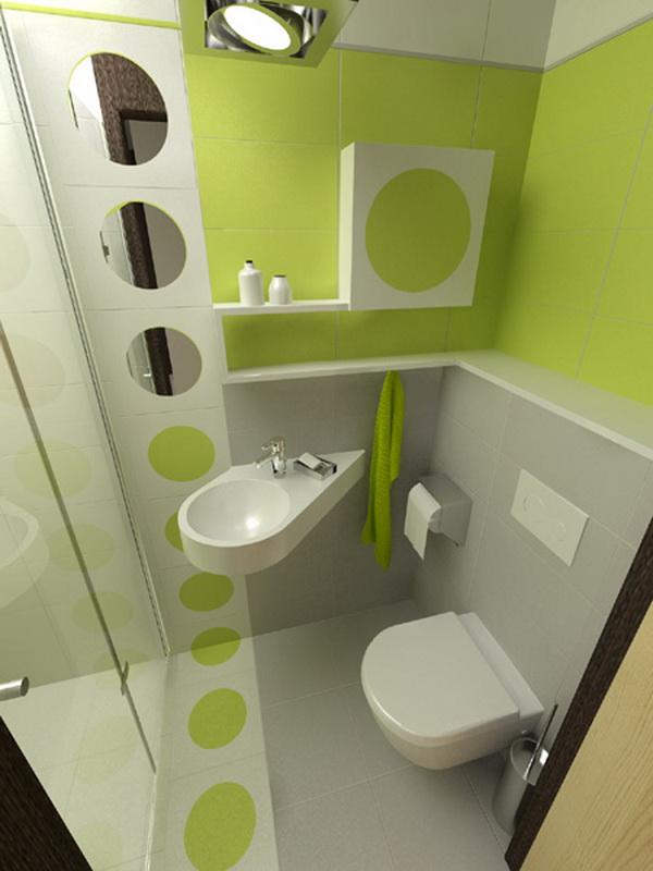 decoración baños muy pequeños