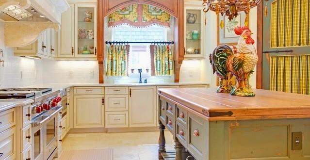 Dise o cortinas cocina rustica original hoy lowcost for Cortinas para cocina rustica