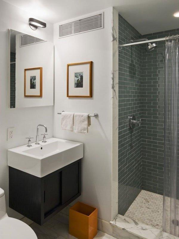 cuartos de baño con ducha de obra