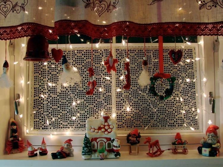 accesorios cortinas navidad