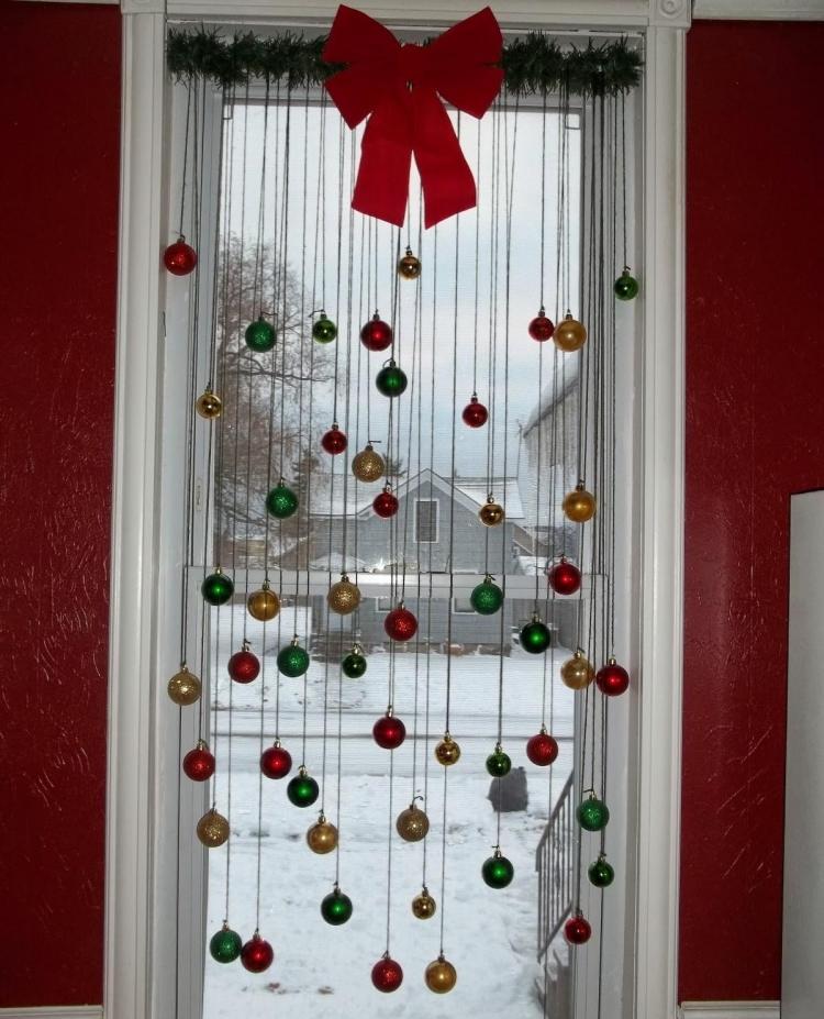 accesorios de cortinas para navidad