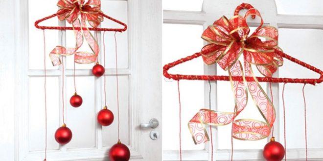 Adornos navidenos para cortinas hoy lowcost - Ideas para arreglos navidenos ...